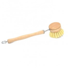 Long handle eco dish brushes with replacement