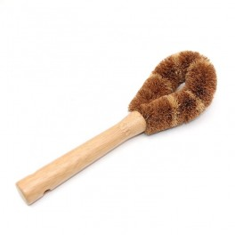Long handle kitchen cleaning brushes